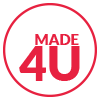 Made 4 U Badge
